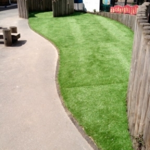 Artificial Grass Play Area - Paddock School