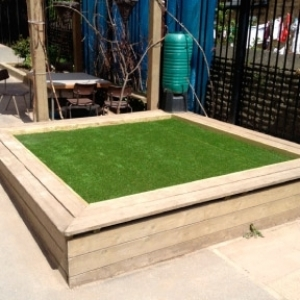 Grass Play Area - Paddock School