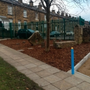 Landscape Area - Crow Lane School