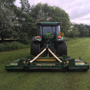 12ft finishing roller mower for a better smoother finish