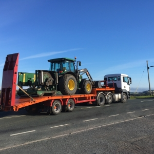 Low loader service for those jobs further away