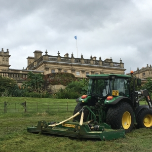 Maintenance at Harewood House, Leeds